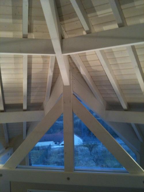 Isolation des toitures par sarking des combles perdus par for Prix isolation combles par soufflage